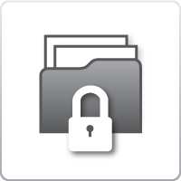 Manage documents in one safe place icon
